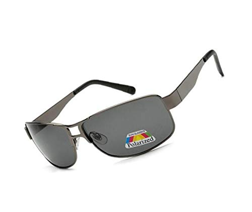 FlowerKui de gafas para Grey Mujeres conducir Hombres sol Ciclismo sol polarizadas Gafas UV400 protectoras de Moda rwpr1Hqz