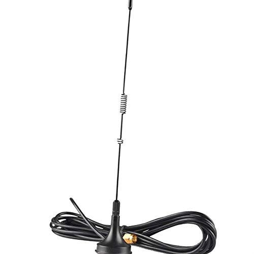 Morza Auto Dual Band Magnetica Mobile Radio Antenna Compatibile per YAESU Baofeng Radio