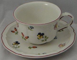Villeroy & Boch Petite Fleur Cup & Saucer Set