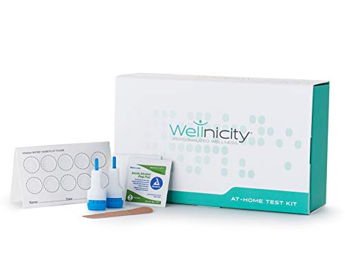 Wellnicity - at-Home My Vitamin D Test Kit - Measures Your Level of 25-hydroxyvitamin D - Important for neurological, Bone and Immune Health, Mood and Energy Level (Not Available in NY or MD)