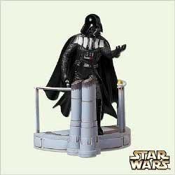 Star Wars Darth Vader Ornament (Keepsake Ornament Star Wars Darth Vader With Magic Voice by)