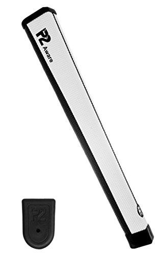 P2 Aware Putter Grip Black/White