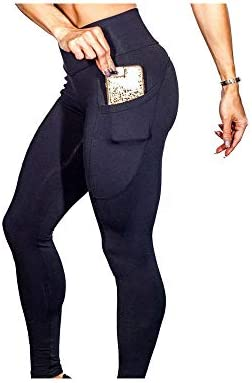 Women's Leggings with Pockets Yoga Pants - Workout Pants All Fit