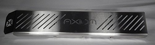 Brushed Stainless Slot Mount (Axiom Side By Side XP1K 1000 Exhaust Cover - Slots)