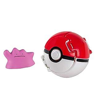 Throw N' Pop Poké Ball, Ditto and Poké Ball, Figurines of Action Figures