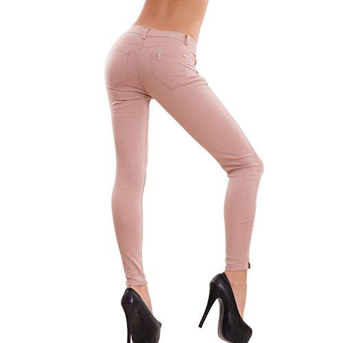 Toocool - Vaqueros - skinny - para mujer Rosa
