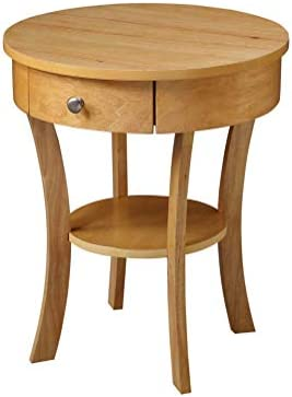 Convenience Concepts Classic Accents Schaffer End Table, Natural