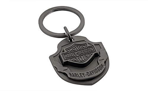 Davidson Bar Harley Shield - Harley-Davidson Bar & Shield 3D Emblem Keychain