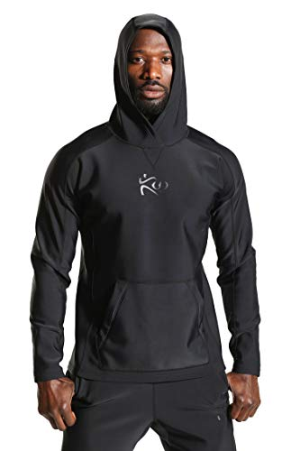 - Kutting Weight Sauna Hoodie (4XL)| Neoprene Unisex Men's and Women's Weight Loss Hoodies for Training MMA Boxing Working Out Fitness