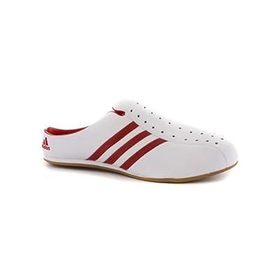 Djenya On 38 Adidas Damen Schuhe Leder Slip Weiß Eur mNnOvy80wP