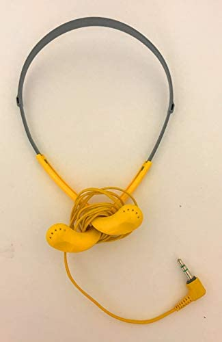 Sony Original MDR-W14 Wrap Around Yellow Sports Headphones