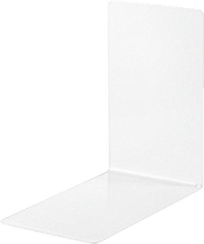 9 opinioni per Alco 4301-10- Reggilibri in metallo, 85 x 140 x 140 mm, 2 pezzi, colore: Bianco