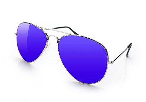 4sold hombre Azul para sol Gafas de wYZRO