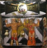 WWE Classic Superstars Ultimate Warrior Hulk Hogan 2 Pack Figures by WWE