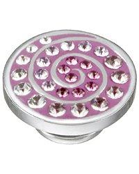 Kameleon Purple Spiral Swarovski Crystal JewelPop -