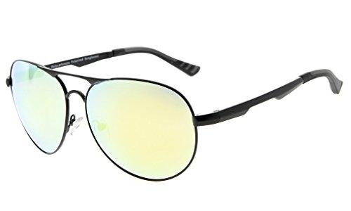 Chahua Men's sunglasses retro high gloss lunettes fashion homme roulant miroirs dans le lunettes optiques JMDnEsLKr
