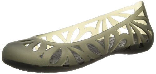 Crocs Kvinners Adrina Iii Flat Sort / Sort