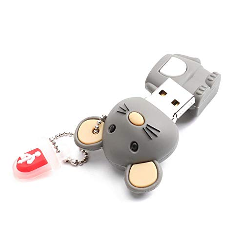 Mobile Flash Card U Disk Chinese Zodiac Mouse USB2.0 Memory Stick (64GB) from Vipeco
