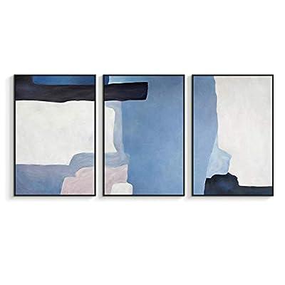Framed for Living Room Bedroom for x3 Panels, it is good, Charming Object of Art
