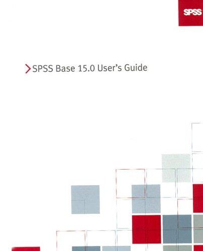 SPSS 15.0 Base User's Guide