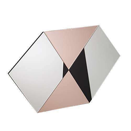 Southern Enterprises AMZ4786SW Marla Oversized Wall Mirror, Silver