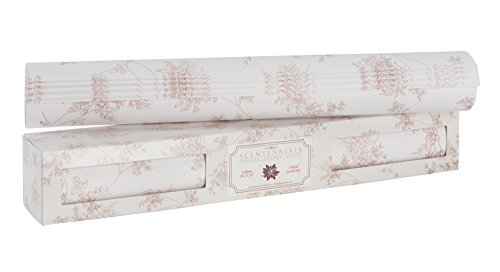 l Series ISLAND GARDENIA (12 SHEETS) Scented Fragrant Shelf & Drawer Liners 16.5