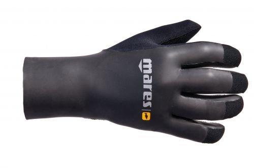 Mares Erwachsene Taucherhandschuhe Gloves SMOOTH SKIN 35, Schwarz, L, 422755