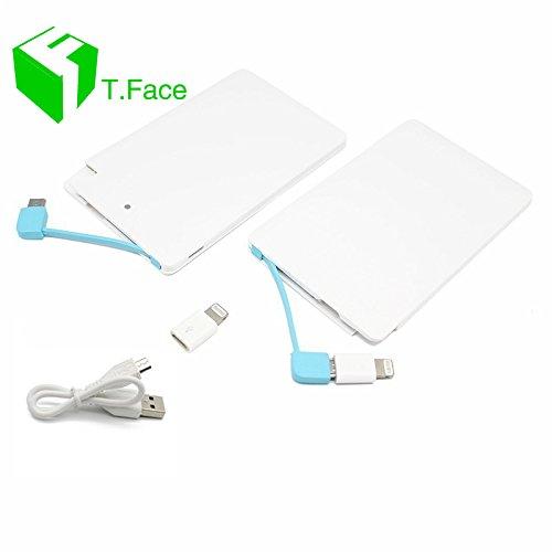 Amazon.com: T. Face Ultra Slim tarjeta 2500 mAh Batería ...