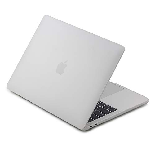LENTION Plastic Hard Case Compatible for MacBook Pro (13-inch, 2016 2017 2018, 2/4 Thunderbolt 3 Ports) - with or w/Out Touch Bar, A1706 / A1708 / A1989, Matte Finish with Rubber Feet (Frost Clear)