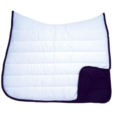 (Roma Reversible Softie Wither Relief Dressage Saddle Pad)