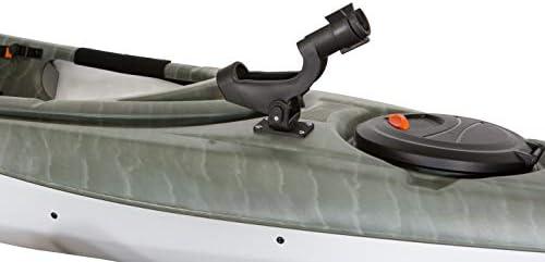 2~8PC Adjustable Side Rail Mount For Kayak Boat Fishing Pole Rod Holder Tackle