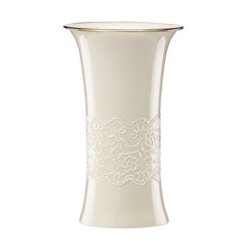 Lenox Lace Trumpet Vase - Lace Vases