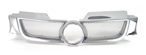 Sports Grille Kit (06-08 Volkswagen Golf Rabbit MK5 Front Mesh Sport Grille Grill Kit)