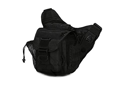 cintura Bag militar de Super salvaje de Tactical ACU Saddle Bolso hombro Bolso Saddle camuflaje Upgrade Bag de Negro Crossbody Bag c8AF6qwS