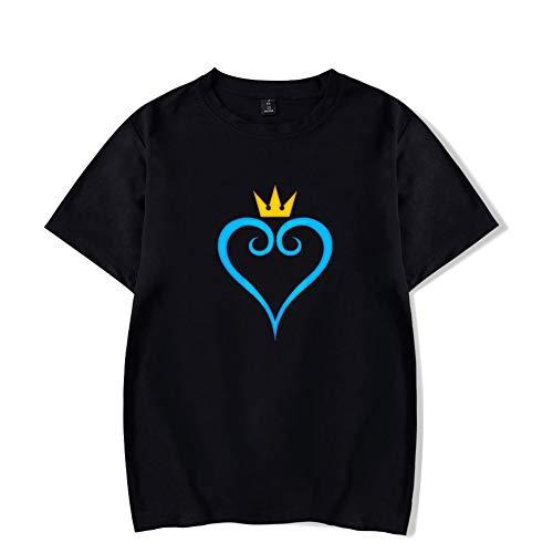Cotone shirt Donna T Black Fit Tops Girocollo Moda Casual Tees Uomo Slim Camicetta Manica Corta FYdCqXPw