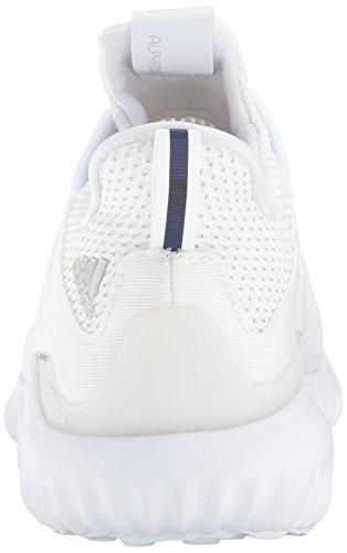 Adidas Heren Alphabounce Em M Hardloopschoen Wit / Grijs One / Zwart