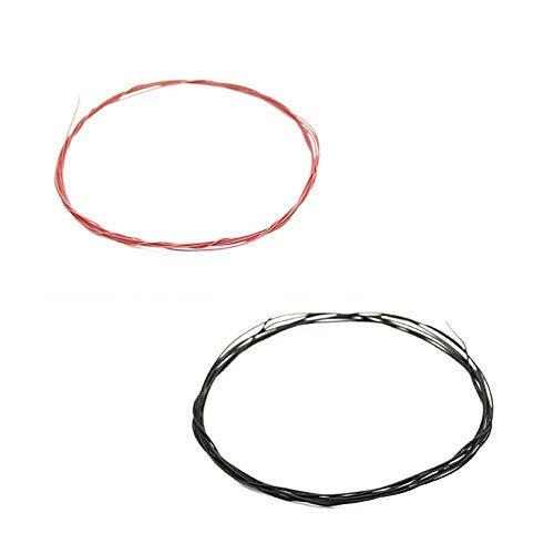 TURNIGY 2M 36AWG PTFE Coated Wire Multi-Strand RED/Black