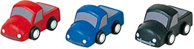 Plan Toys Set Of 3 Wooden Mini Trucks by Plan Toys