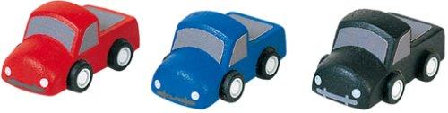 Plan Toys Set of 3 Wooden Mini ()