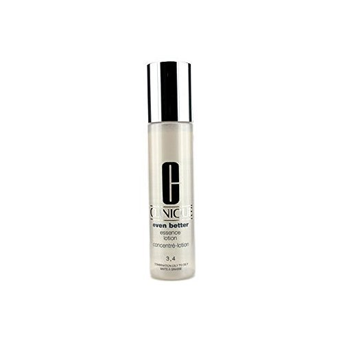 Clinique Even Better Essence Lotion for Skin Types 3-4/Combination Oily To Oily (3.4 fl oz, 100ml) (4 Type Clinique)