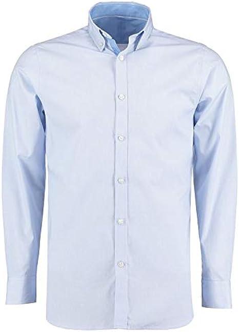 Clayton & Ford - Camisa de manga larga con diseño de cuadros ...