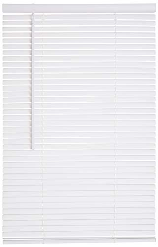 Lotus & Windoware Cordless 1″ Vinyl Blind 16.5″ x 84″, White
