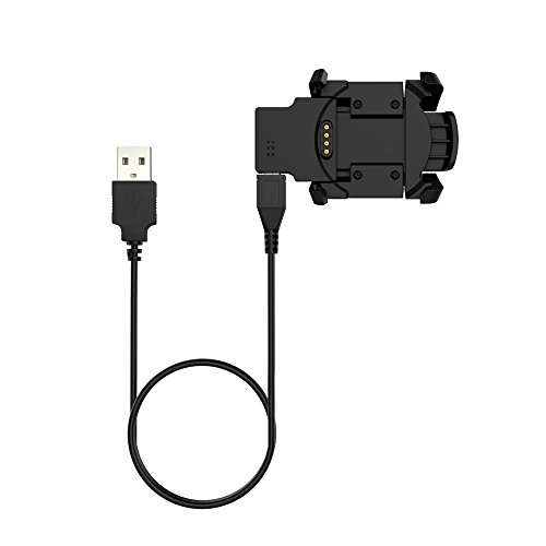 Digit.Tail USB Charger [Data Sync & Charge] Cradle Dock Clip Charging Stations Cable for Garmin Fenix 3/Fenix 3 HR/Quatix 3 Smart Watch
