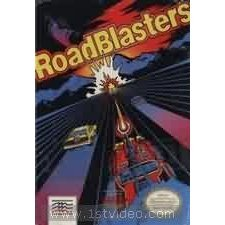 RACING VIDEO GAME ROADBLASTERS FOR NINTENDO NES SYSTEM (NINTENDO NES SYSTEM ONLY, NES 8-BIT CARTRIDGE ONLY)