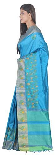With Art Silk Piace Blouse Saree sp126585 Sf Fashion Simaaya O65axqI5