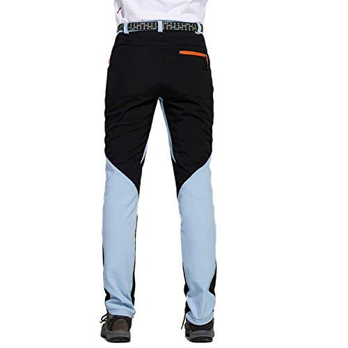 Allentato 3 Confortevole Harem 4 Coulisse Solido Huixin Tasca Leggero Casual Da Pantaloni Hellblau Traspirante Spiaggia Uomo Con Colore Skinny Di OSPBxnRS