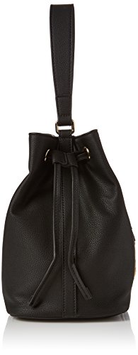 x Love T Black Nero Grain Bag Small 16x26x30 Borsa Womens Moschino H Pvc Shoulder cm B BB1qTFw