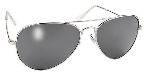 Pacific Coast Sunglasses Aviator (Pilots Mirror Lens Aviator Sunglasses and Case)