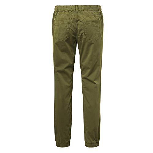 Verde Denim Mujer Tailor Leaf Tom Hose Green nos summer Einem Beinabschluss Schmalen 11148 Mit Pantalones Cargo Para B75PqWnF65