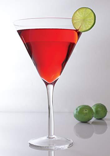 Vaso de Martini gigante - Única Jumbo Tamaño Extra grande 25 oz - elegante ocasión especial Party Centerpiece - grande Drink dispensador de cóctel vasos: ...